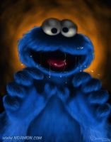 COOKIE MONSTER! by ArtNomad