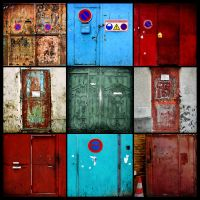 Doors of Aubervilliers by geronimux