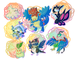 PKMNation: Chibi Gifts Part 1 by KindieRoops