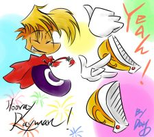 HOORAY RAYMAN by amberday