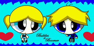 Bubbles and boomer by EmmyAngel69