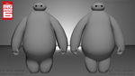 BayMax Big Hero 6 (Low n High poly) by GinoPinoy