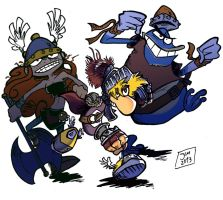 Rayman Legends by earthwar-jim