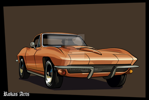 GTA Corvette by RokasArts