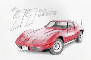 Chevrolet Corvette by WeezyBlue