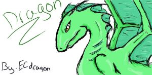 dragon by ECdragon