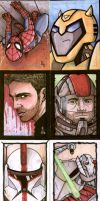 ACS Benefit Sketch Cards by ragelion