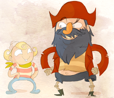 The Marvelous Misadventures of Flapjack by Wowza-Wowzers