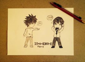 Chibi Deathnote !! by FireRider98