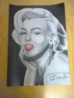 Marilyn Monroe by DiablossArt