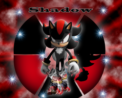 Shadow the Hedgehog by sVxShadow