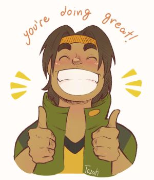 hunk has a message for you by GabiTozati