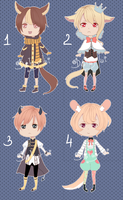 Adoptable Batch 3 [CLOSED] by Dehybi-Adopts
