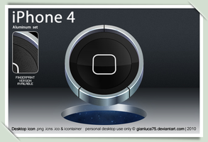 iPhone 4 icon by GianlucaDivisi