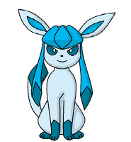 Glaceon by KittyCatEevee