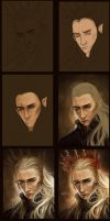 Thranduil steps by Amourinette