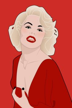 Carroll Baker by msdefectivetoaster