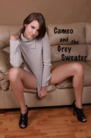 Cameo and the Grey Sweater Set by RaymondPrax