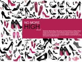 pink shoes by razangraphics