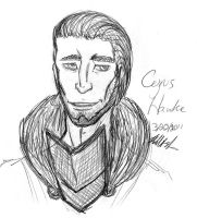 Cyrus Hawke by GrimReapette