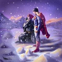 Batman Vs Superman by Digraven