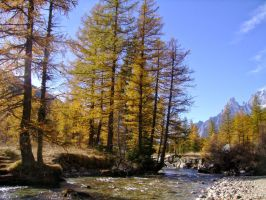 October in the Italian Alps IV by MrTinyx