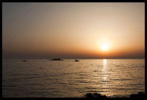 Croatia sunset by lSiaNl