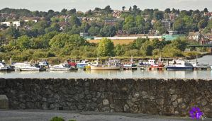Boats On The Medway (20.09.13) by LacedShadowDiamond
