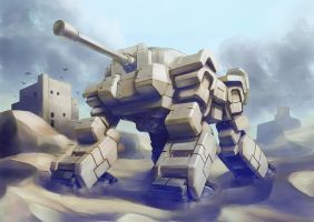 Walker tank by sakuranez
