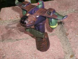 Mudfighter - robot mode 1 by Ironhold