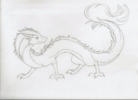 Eastern Dragon by HeadsofScwab
