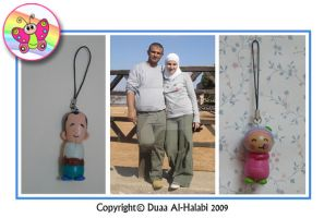 hiba and Wael figures by dubutterflydesign