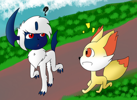 Art Trade - PKMNation: Hi there by gaper4