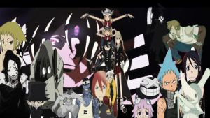 Soul Eater Collage by TheInkingPen
