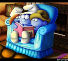 Story Time Before Bed by SuperSmurgger