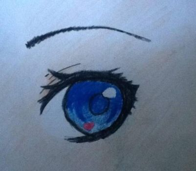 Just an eye by TheTomboyOtaku