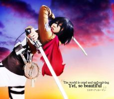 Mikasa Ackerman: And so I fight by kuricurry