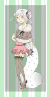 Snow Leopard Girl Auction~(Closed) by otowei