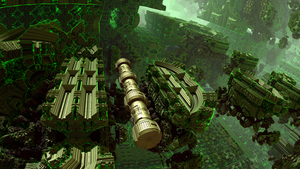 spaceship - Mandelbulb3D with Parameter by matze2001