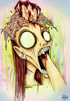 Brain damage by Loony-Madness
