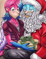 Unexpected Gift by ManueC