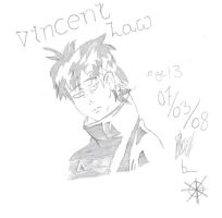 .: Vincent Law :. by Deidara1000