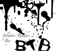 Splatter Brushes 2 by bobthebldr