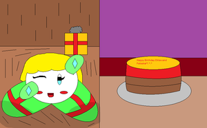 Knight School Birthday gift for Palooka and a diff by IttyBitty1996