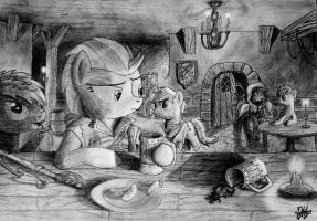 In the Tavern by modecom1