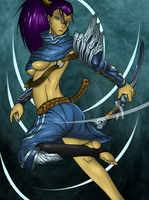 Female Yasuo, The Unforgettable by Lel0uch