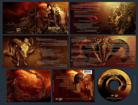 Job For A Cowboy-Genesis CD by damnengine