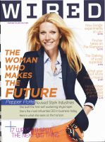WIRED Magazine, May, 2012  Pepper Potts can do no by nottonyharrison
