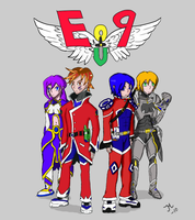 Eo9 charakters by Idera13