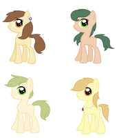 Foals for LeanaJaine13 .:Closed:. by vega37